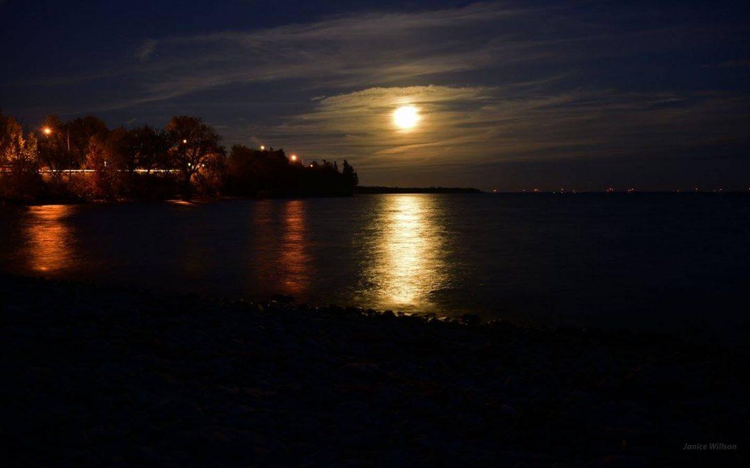 The Moon Looks SO Close Tonight