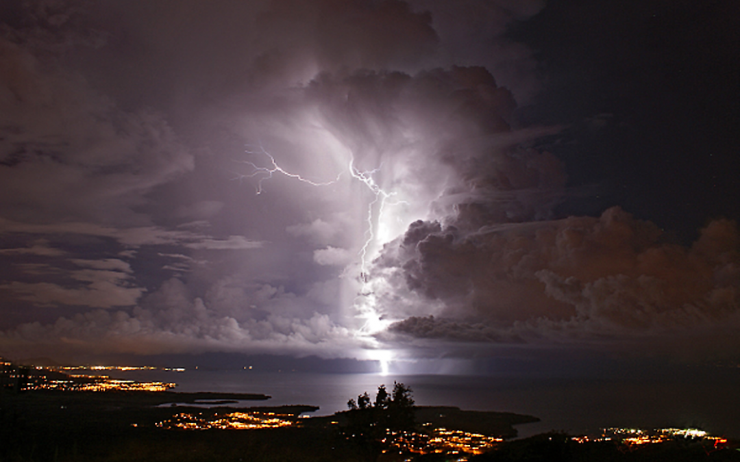 Lightning, Sweating Blood, and Other Creepy Things